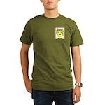 MacAuselane Organic Men's T-Shirt (dark)