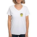MacAuselane Women's V-Neck T-Shirt