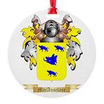 MacAuselane Round Ornament