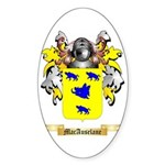 MacAuselane Sticker (Oval)