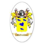 MacAuselane Sticker (Oval 50 pk)