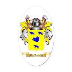 MacAuselan Oval Car Magnet