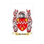 MacAully Sticker (Rectangle 10 pk)