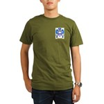 MacAuliffe Organic Men's T-Shirt (dark)