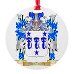 MacAuliffe Round Ornament