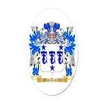 MacAuliffe Oval Car Magnet