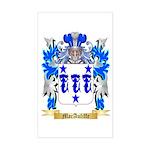 MacAuliffe Sticker (Rectangle)