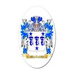 MacAuliffe 35x21 Oval Wall Decal