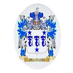 MacAuliffe Ornament (Oval)