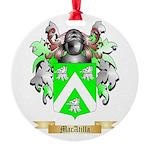 MacAtilla Round Ornament