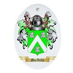 MacAtilla Ornament (Oval)