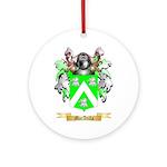 MacAtilla Ornament (Round)