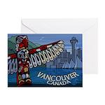 Vancouver Canada Souvenir Greeting Card