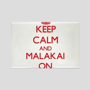 Keep Calm and Malakai ON Magnets