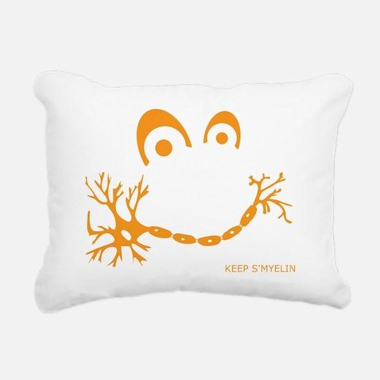 Keep S'Myelin Rectangular Canvas Pillow