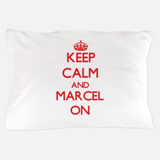 Keep Calm and Marcel ON Pillow Case