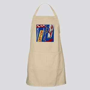 Abstarct Crawfish Boil Design Apron