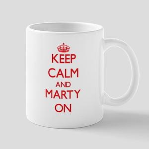 Keep Calm and Marty ON Mugs