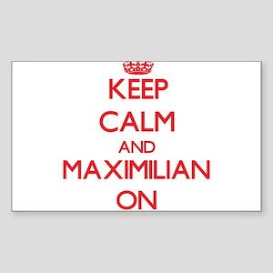 Keep Calm and Maximilian ON Sticker