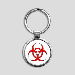 Biohazard 1 Keychains