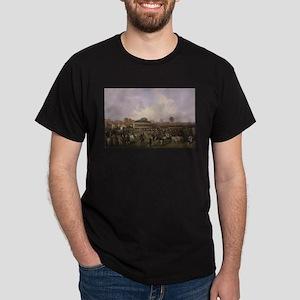 thoroughbred horse racing art T-Shirt