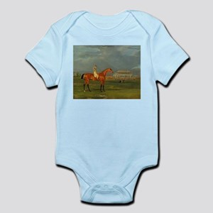 thoroughbred horse racing art Body Suit
