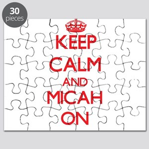 Keep Calm and Micah ON Puzzle