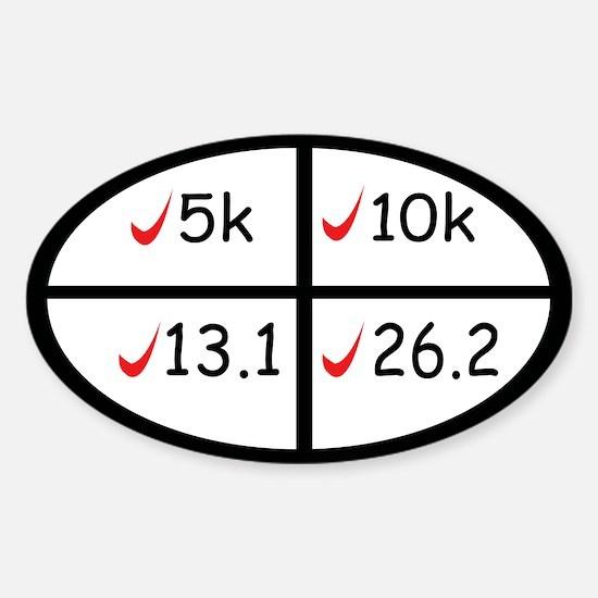 Marathon goals Stickers