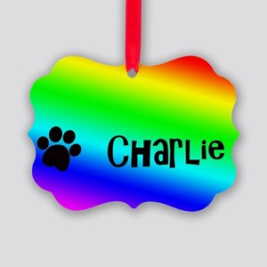 Charlie Picture Ornament