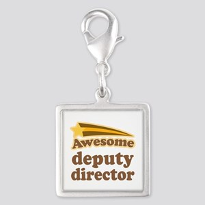 Awesome Deputy Director Silver Square Charm