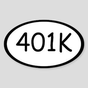 Marathon 401k Sticker