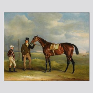 thoroughbred horse racing art Posters