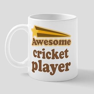 Awesome Cricket Player Mug