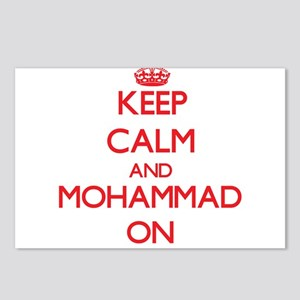 Keep Calm and Mohammad ON Postcards (Package of 8)
