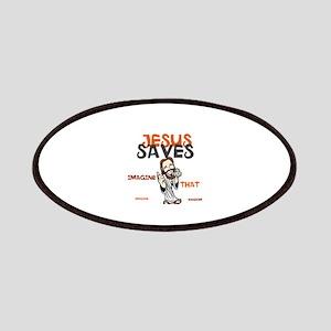 JESUS Saves Design Collec Patch