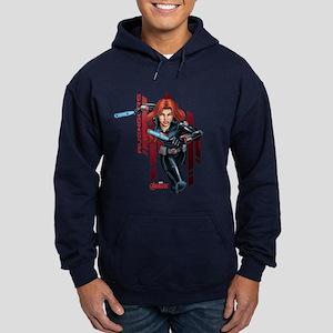 The Avengers Black Widow: Running Hoodie (dark)