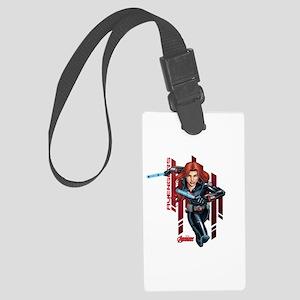 The Avengers Black Widow: Runnin Large Luggage Tag
