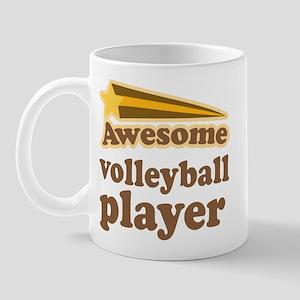 Awesome Volleyball Player Mug