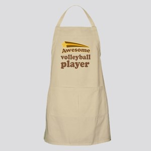 Awesome Volleyball Player Apron