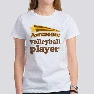 Awesome Volleyball Player Women's T-Shirt