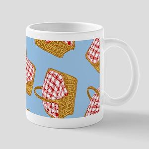 Picnic Basket Pattern Mug