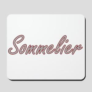Sommelier Artistic Job Design Mousepad