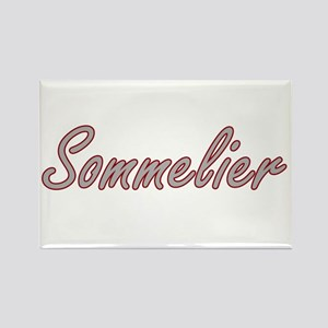 Sommelier Artistic Job Design Magnets