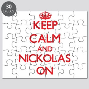 Keep Calm and Nickolas ON Puzzle