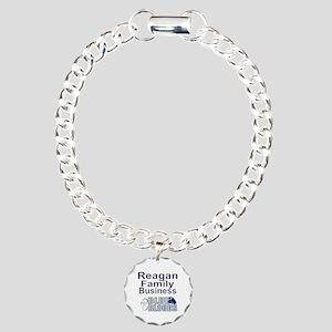 Reagan Family Business Charm Bracelet, One Charm