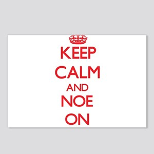 Keep Calm and Noe ON Postcards (Package of 8)