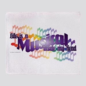 Life is a Musical Throw Blanket