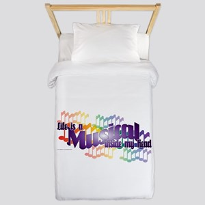 Life is a Musical Twin Duvet