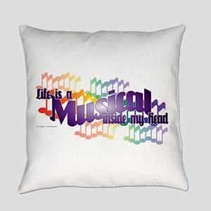 Life is a Musical Everyday Pillow