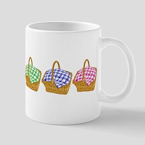 Rainbow Picnic Baskets Mugs